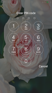 Roses Lock Screen HD - náhled