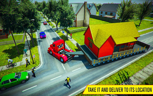 Download House Mover Job: House Transport Truck Driver 2019 For PC Windows and Mac apk screenshot 8
