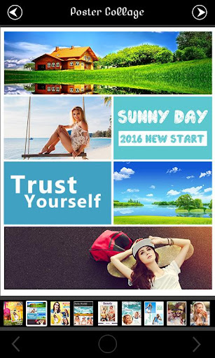 Poster Photo Collage Editor  screenshots 2