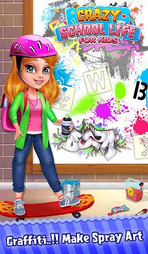 Crazy School Life For Kids