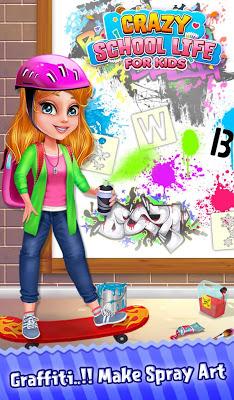 Crazy School Life For Kids - screenshot