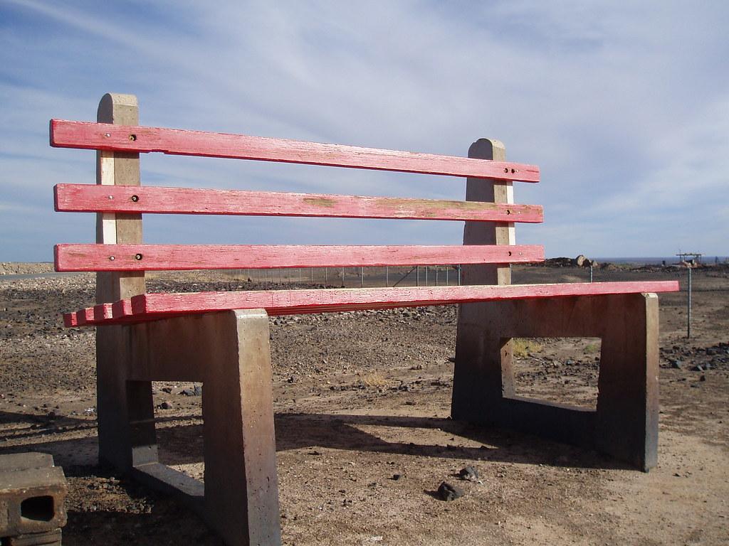 the big bench in broken hill
