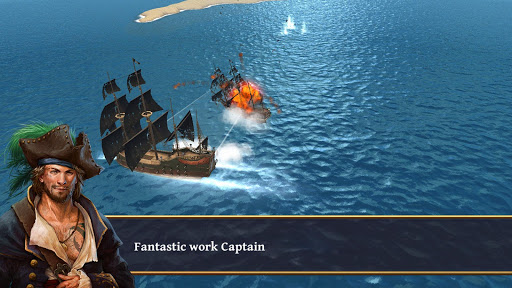 Ships of Battle - Age of Pirates - Warship Battle  screenshots 4