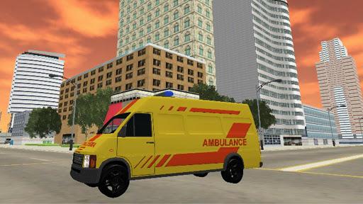 Télécharger Gratuit Ambulance Simulator Game Extreme APK MOD (Astuce) screenshots 4