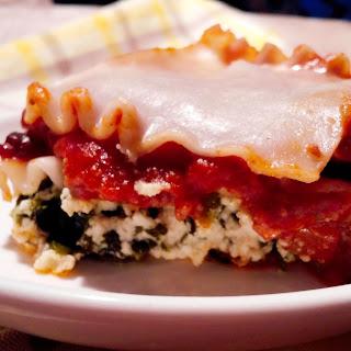 Eggplant Zucchini Lasagna (Low FODMAP, Gluten-Free, Dairy-Free, Egg-Free)