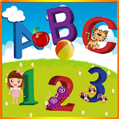 Learn abcd 1234 color & shapes