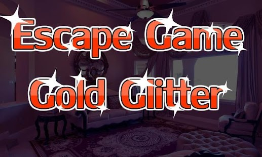 Escape Game Gold Glitter - náhled