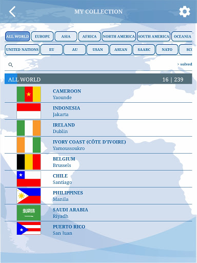 The Flags of the World u2013 Nations Geo Flags Quiz screenshots 16