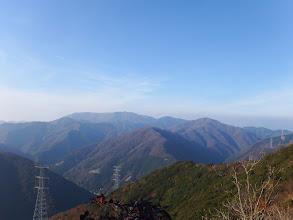 霊仙山方面