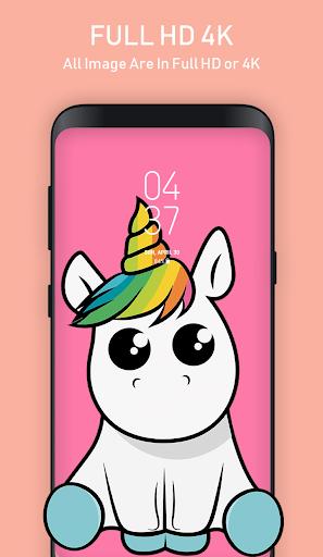 Cute Unicorn Wallpapers for Girls screenshot 1 ...