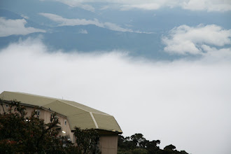 Photo: Laban Rata Resthouse 3,270 metres (10,730 ft)