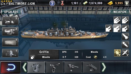 WARSHIP BATTLE:3D World War II ‏ 8