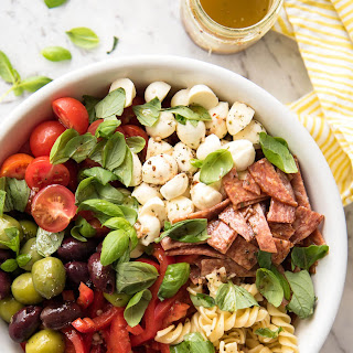 Pasta Salad With Sausage And Italian Dressing Recipes.