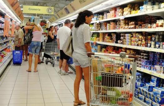 Spesa degli italiani