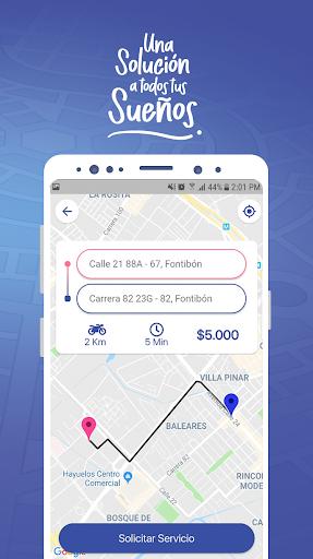 Llevo -Transporte, domicilios y mensajeru00eda express screenshots 3