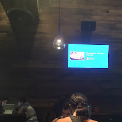 The fun part about the restaurant, you place your order through an iPad which is located at every table. It lets you know if the item is GF, took a lot of pressure out of ordering.  My daughter posted on Instagram & FB & showed up on their mounted tv's. She got a kick out of that, also.