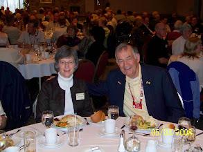 Photo: Sandra and Walt Lane (President, Northeastern District)