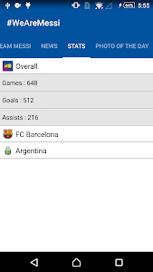 News, Photos & Stats for Messi screenshot 3