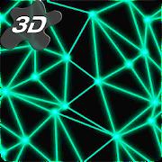 Neon Particle Plexus 3D Live Wallpaper