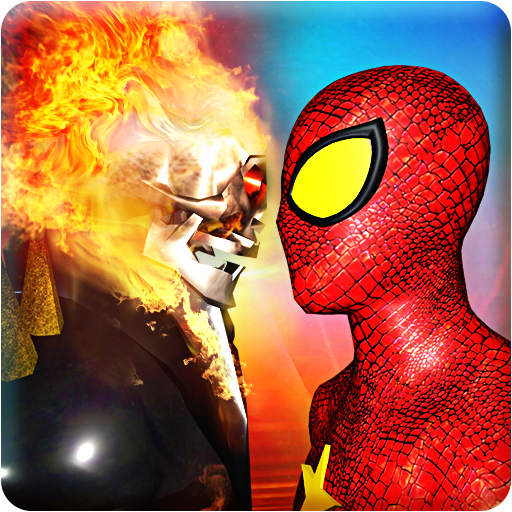 Ghost Hero vs Superheroes Fire Blaze Epic Battle