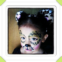 Photo: Safari face painting by Raelynn, Azusa, Ca. Call to book her today! 888-750-7024