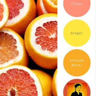 Ginger Citrus Infusion Water Recipe