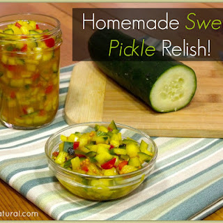 Homemade Sweet Pickle Relish