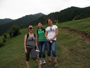 Photo: We opted to hike up the hill instead of paying to ride horses...