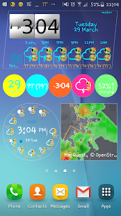 eWeather HD, Radar, Alerts- صورة مصغَّرة للقطة شاشة