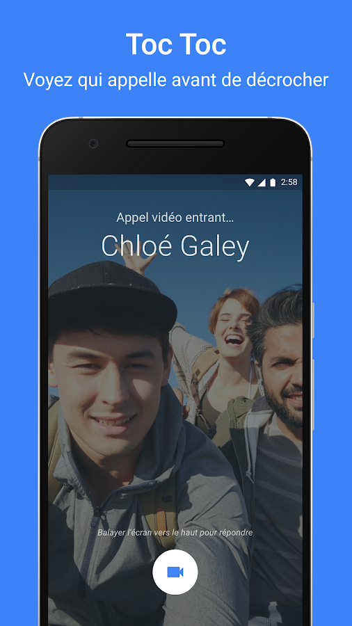 Google Duo – Capture d'écran
