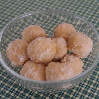 Almond Cheesecake Bites.