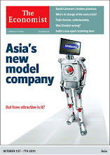 Photo: The Economist cover: Asia edition. October 1st 2011