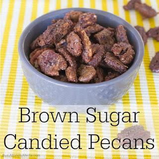 Brown Sugar Candied Pecans