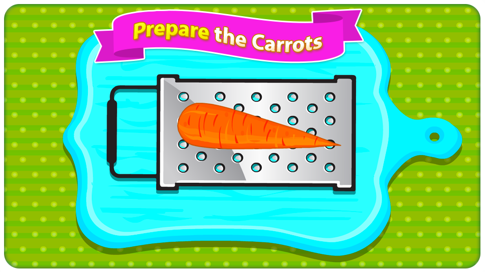 Carrot Cupcakes - Coking Games- screenshot