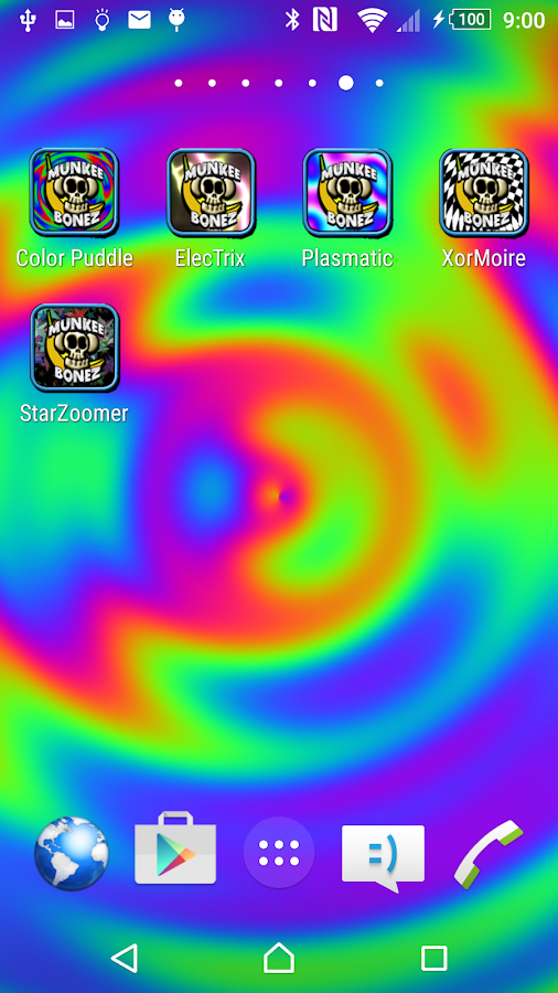 Color Puddle Live Wallpaper Fr- screenshot