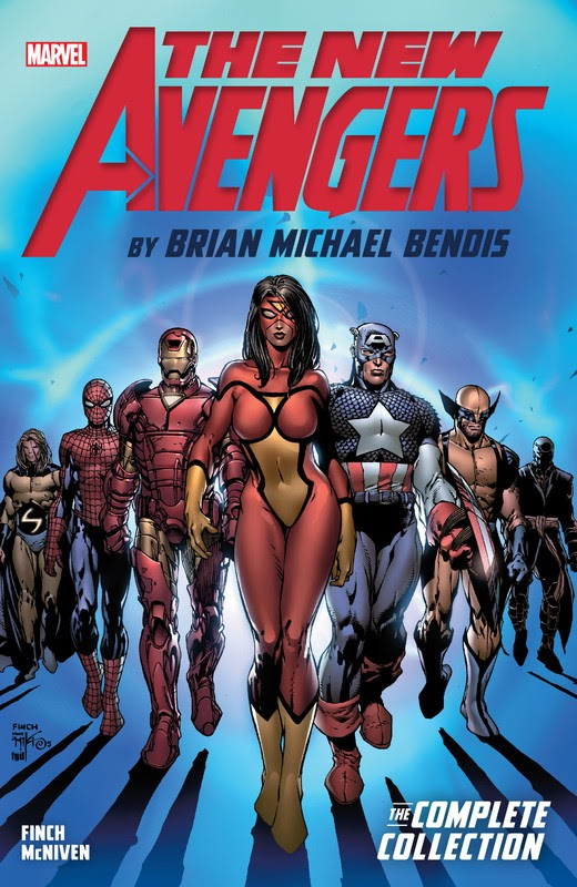The New Avengers by Brian Michael Bendis: The Complete Collection (2017) - complete