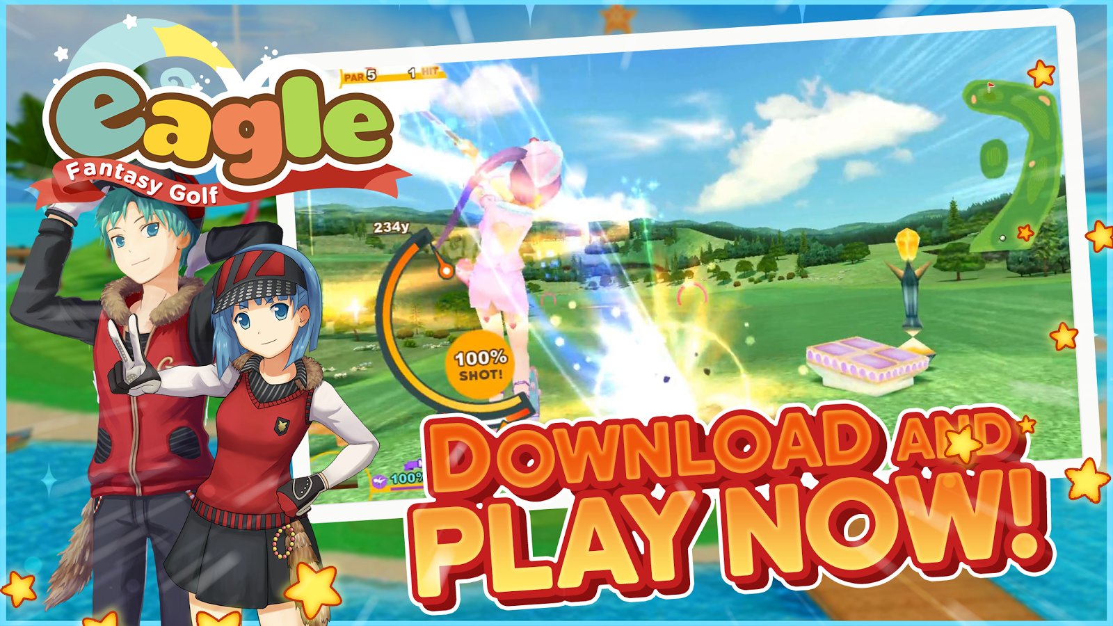 Eagle: Fantasy Golf- screenshot