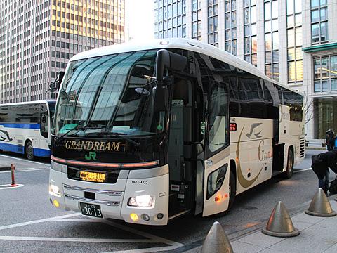 JRバス関東「グランドリーム30号」 H677-14423 東京駅日本橋口到着