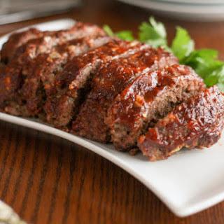 Gluten-Free Meatloaf.