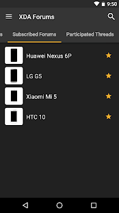XDA Screenshot