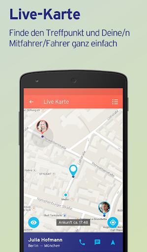 Mitfahrgelegenheit – Reise App screenshot 4