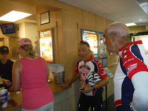 Photo: Dantery 19 Dubois to Riverton 79 miles 1410' climbing: DQ stop before entering RV park
