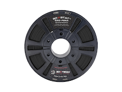 3DXTECH 3DXSTAT Black ESD-SAFE PEKK Filament - 1.75mm (0.5kg)