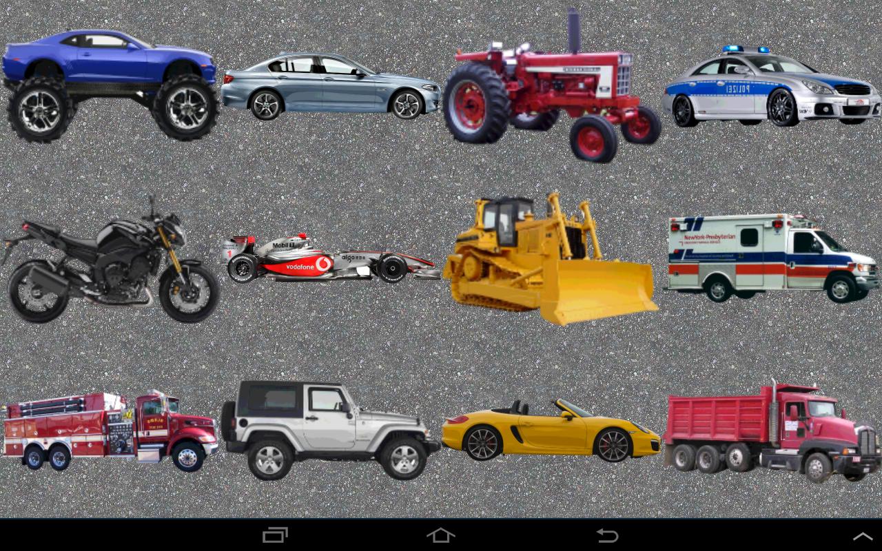 toddler car games screenshot