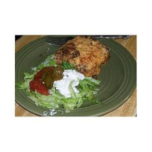 Bean and Beef Enchilada Casserole