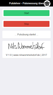 Pulslehrer - Pulsmessung üben Screenshot