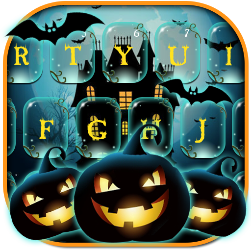 Halloween Ghost Keyboard