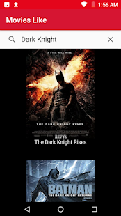 Movies Like. Movie List.Movie Streaming Suggestion Screenshot