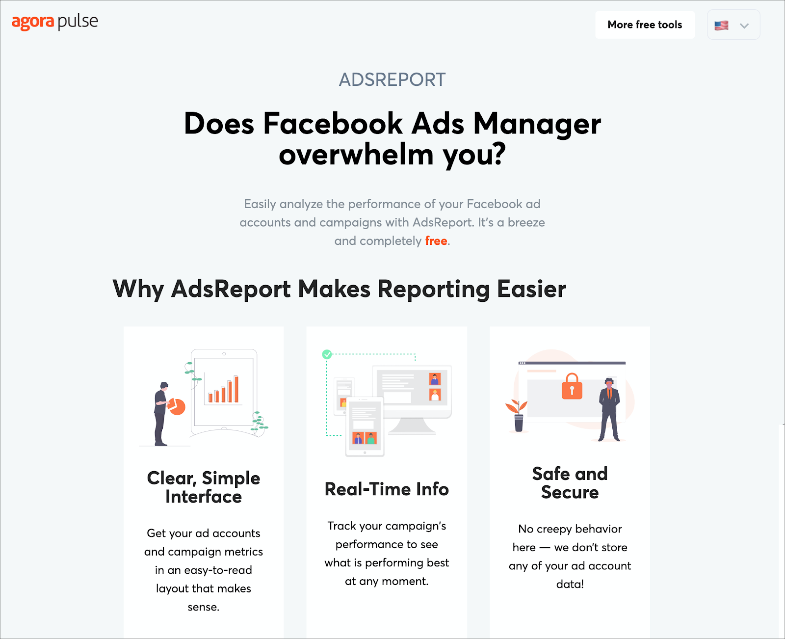 Agorapulse Ads Report