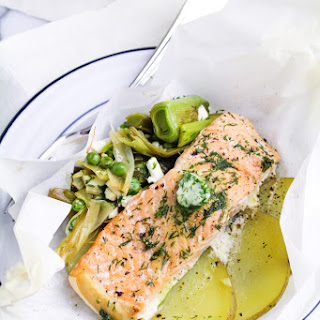 Salmon en Papillote with Dill Butter Recipe